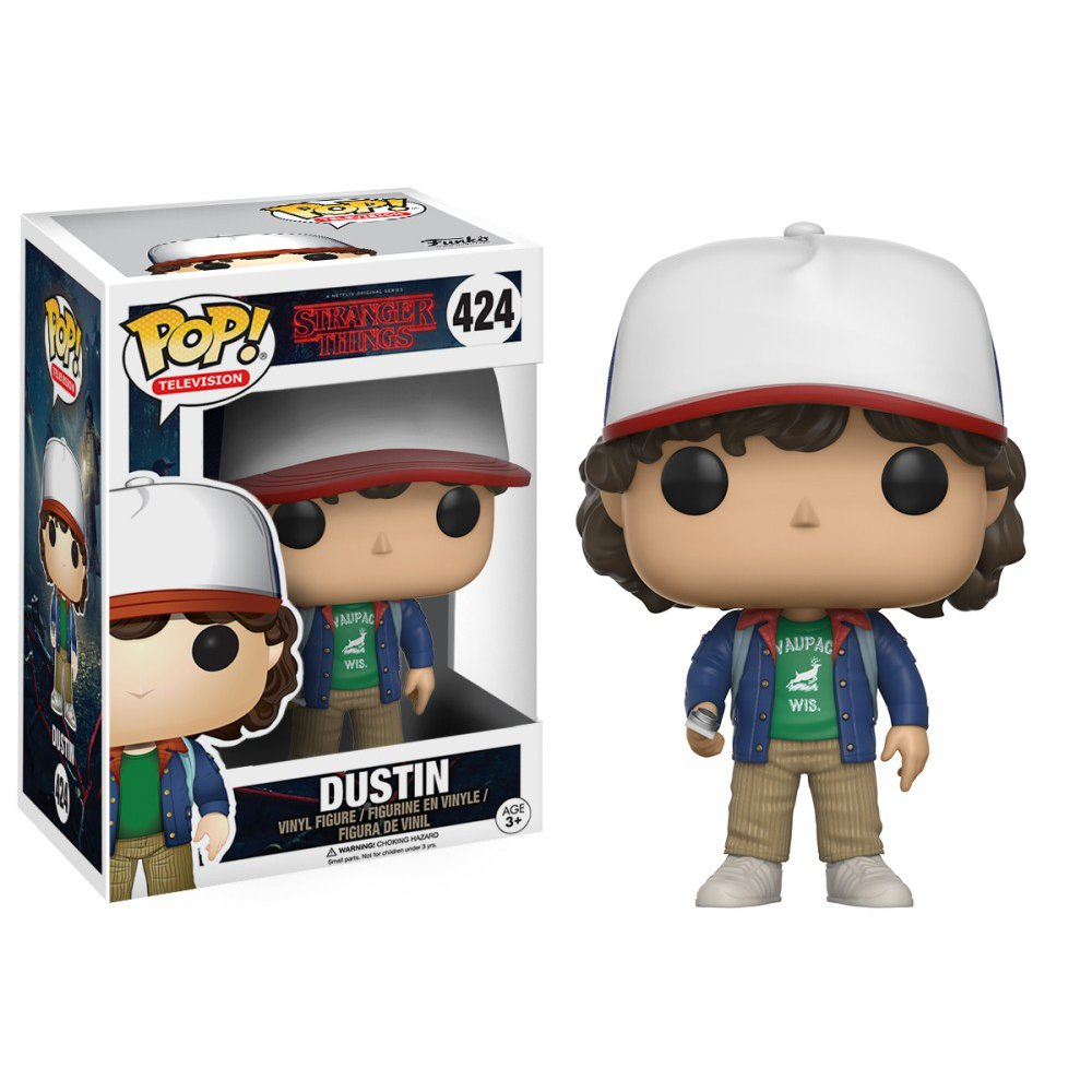 Stranger Things - Dustin Henderson With Compass #424 Funko Pop