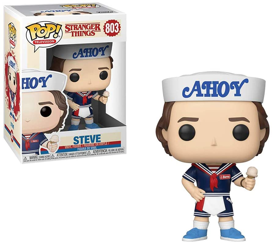 Stranger Things Steve With Hat And Ice Cream 803 Funko Pop
