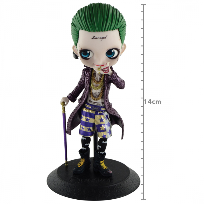 Suicide Squad - Joker (Coringa) Mod A - Q Posket Banpresto