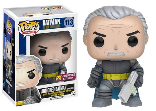 The Dark Knight Returns - Armored Batman Unmasked 113 PX Previews Exc