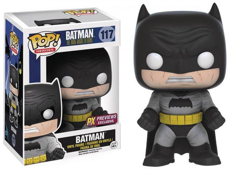 The Dark Knight Returns - Batman 117 PX Previews Exc Funko Pop