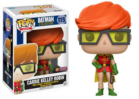 The Dark Knight Returns - Carrie Kelley Robin 115 PX Previews Exc Funko Pop