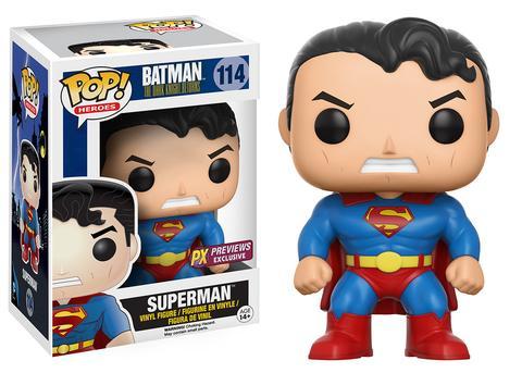 The Dark Knight Returns - Superman 114 PX Previews Funko Pop