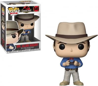 Funko Pop Jurassic Park 545 Alan Grant
