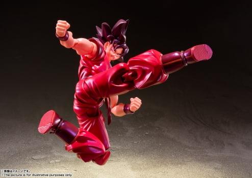 S.H. Figuarts Goku Kaioken - Dragon Ball Z Bandai