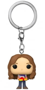 Chaveiro Hermione Granger Holiday Funko Pop Pocket Keychain Harry Potter