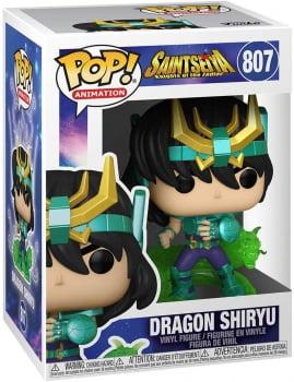 Funko Pop Shiryu Dragão 807 Cavaleiros do Zodiaco Saint Seiya