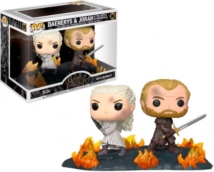 Funko Pop Daenerys and Jorah 86 At The Battle Of Winterfell Game of Thrones