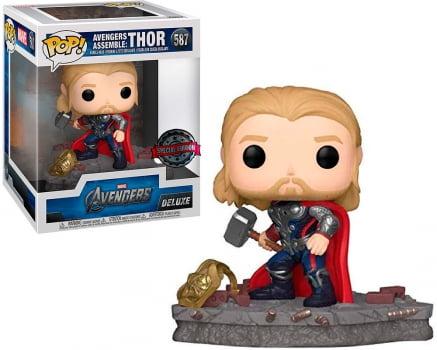Funko Pop Thor 587 Deluxe - Avengers Assemble Vingadores