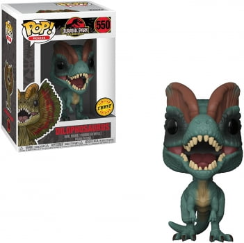 Funko Pop Jurassic Park 550 Dilophosaurus Chase