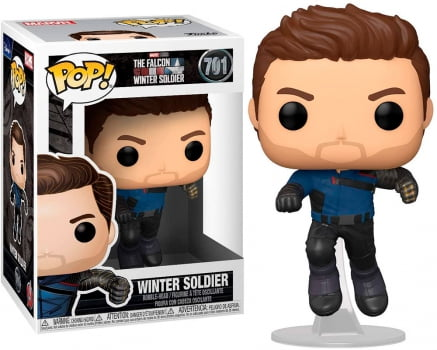 Funko Pop Soldado Invernal 701 The Falcon and Winter Soldier