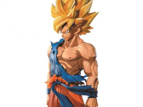 Banpresto Dragon Ball Z Goku Super Saiyajin Manga Dimensions Master Stars Piece