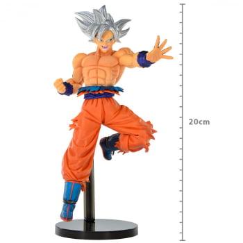 Banpresto Goku Ultra Instinto Superior Chosenhiretsuden II Dragon Ball Super