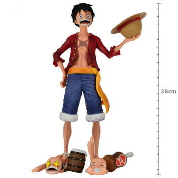 Grandista Nero Monkey D. Luffy One Piece Bandai Banpresto