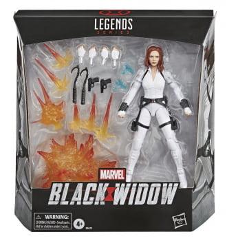 Marvel Legends Viuva Negra Deluxe - Black Widow Movie (White Suit)