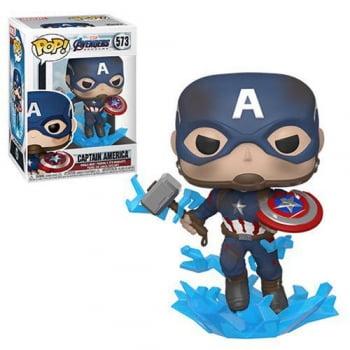 Avengers Endgame - Captain America W/ Mjolnir 573 Funko Pop Capitão América