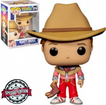 Back To The Future - Marty Mcfly 816 Exclusive Funko Pop