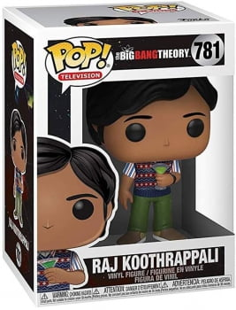 Big Bang Theory - Raj Koothrappali 781 Funko Pop