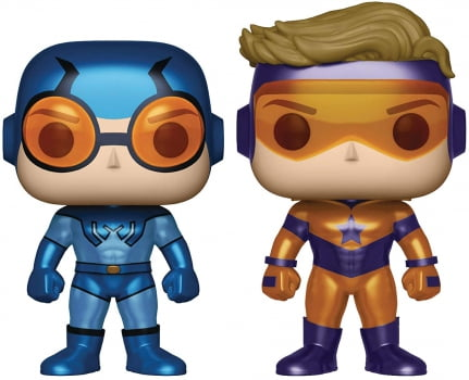 Blue Beetle & Booster Gold 2-Pack Funko Pop PX Exclusive