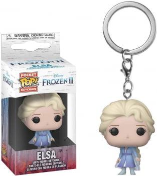 Chaveiro Elsa Frozen 2 Funko Pop Pocket Keychain