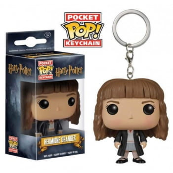 Chaveiro Hermione Granger Funko Pop Pocket Keychain Harry Potter