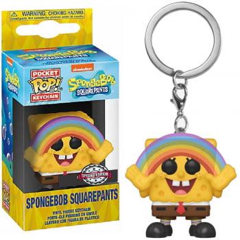 Chaveiro Bob Esponja Funko Pocket Pop Spongebob Squarepants