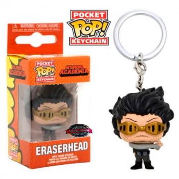 Chaveiro Eraserhead Shota Aizawa My Hero Academia Funko Pop Pocket Keychain