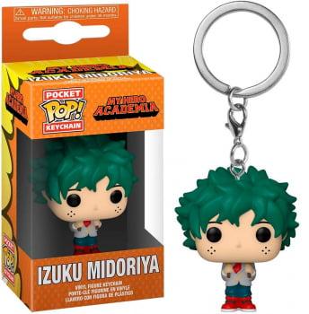 Chaveiro Izuku Midoriya Deku My Hero Academia Funko Pop Pocket Keychain