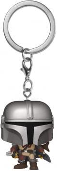 Chaveiro The Mandalorian Star Wars Funko Pop Pocket Keychain