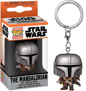 Chaveiro The Mandalorian Star Wars Funko Pop Pocket Keychain