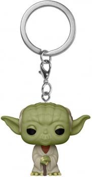 Chaveiro Mestre Yoda Star Wars Funko Pop Pocket Keychain