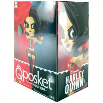 DC Comics - Harley Quinn (Arlequina) Mod A Q Posket Banpresto