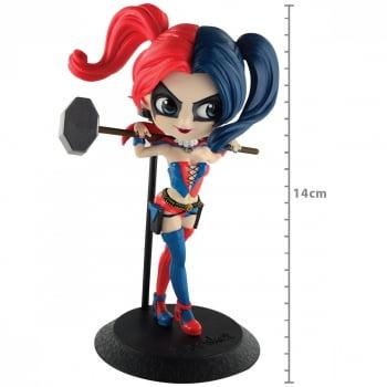 DC Comics - Harley Quinn (Arlequina) Mod B Q Posket Banpresto