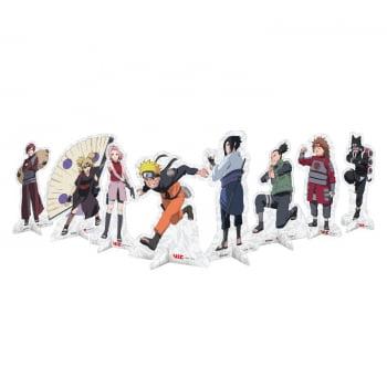 Decoração de Mesa - Naruto Shippuden - 08 Personagens - Festcolor