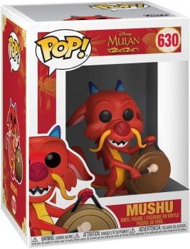 Disney Mulan - Mushu w Gong 630 Funko Pop