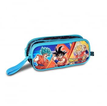 Dragon Ball Super - Estojo Duplo Azul - Clio Style