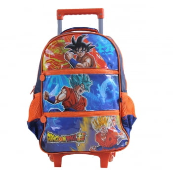 Dragon Ball Super - Mochila (Carrinho) Laranja - Clio Style