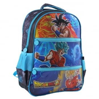 Dragon Ball Super - Mochila (Costas) Azul - Clio Style