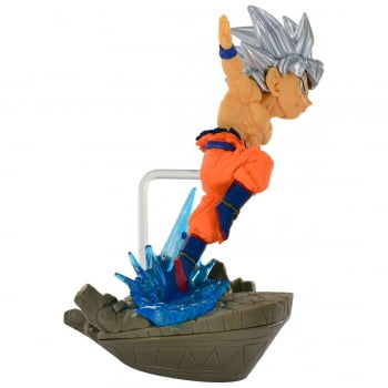 Dragon Ball Super - Son Goku Ultra Instinto Superior - WCF Diorama Banpresto
