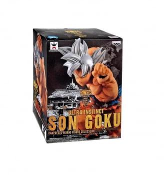 Dragon Ball Super - Son Goku Ultra Instinto Superior - World Figure Colosseum Banpresto
