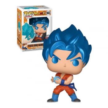 Funko Pop Dragon Ball Super SSGSS Son Goku Kamehameha 563