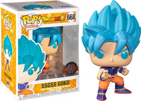 Dragon Ball Super - SSGSS Son Goku 668 Exclusive Funko Pop