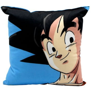 Dragon Ball Z - Almofada Son Goku 25x25cm - Zona Criativa