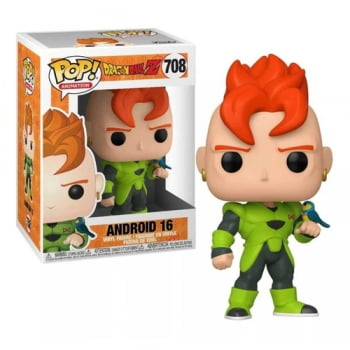 Dragon Ball Z - Android 16 708 Funko Pop Androide 16