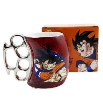 Dragon Ball Z - Caneca Soco Inglês Son Goku Rage 350 ml - Zona Criativa