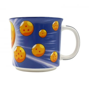 Dragon Ball Z - Caneca Tom Son Goku Esferas 350 ml - Zona Criativa