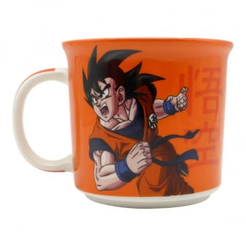Dragon Ball Z - Caneca Tom Son Goku Símbolo 350 ml - Zona Criativa