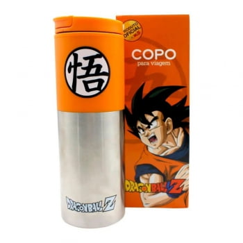 Dragon Ball Z - Copo Smart Son Goku 500ml - Zona Criativa