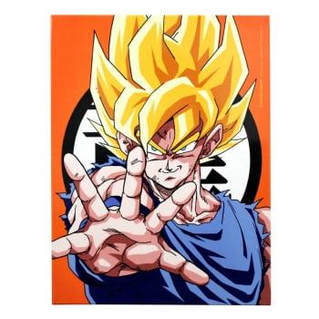 Dragon Ball Z - Quadro Decorativo Son Goku Super Saiyajin - Zona Criativa