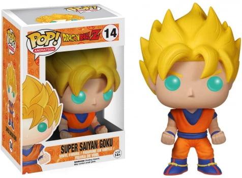 Dragon Ball Z - Super Saiyan Goku #14 Funko Pop Glow in the Dark